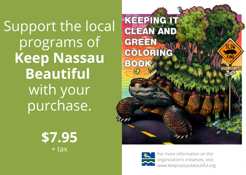 Click the image to view the 22 pages of illustrations that highlight the beauty and benefit of a clean, green environment.  Your purchase helps fund KNB initiatives.